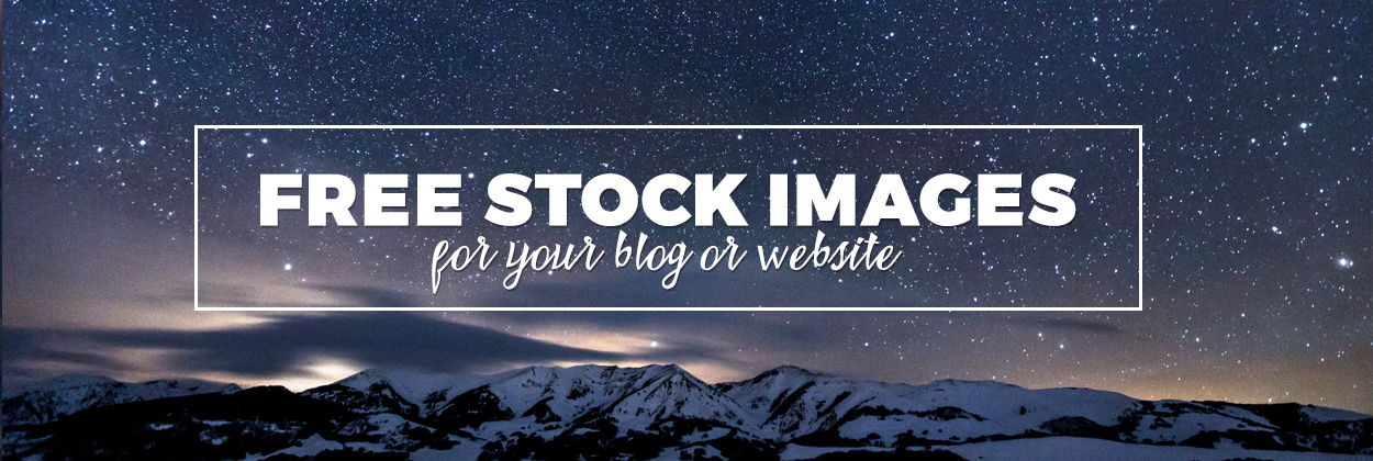 free stock images for blogs and websites
